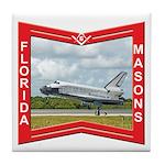 Florida Masons Tile Coaster
