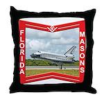 Florida Masons Throw Pillow