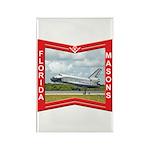 Florida Masons Rectangle Magnet (100 pack)