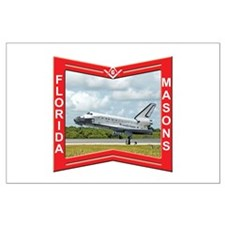Florida Masons Large Poster