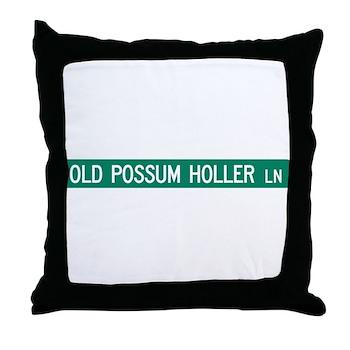 Old Possum Holler Road, Hendersonville (NC) Throw