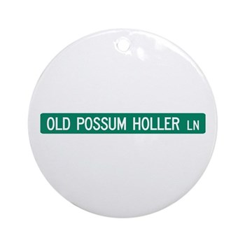 Old Possum Holler Road, Hendersonville (NC) Orname
