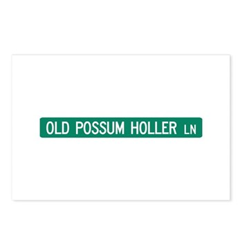 Old Possum Holler Road, Hendersonville (NC) Postca