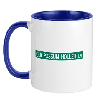 Old Possum Holler Road, Hendersonville (NC) Mug