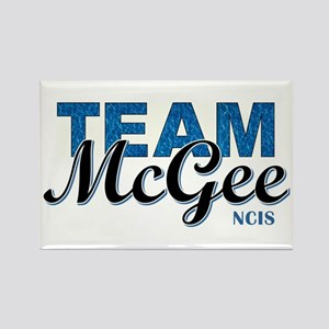 TEAM McGEE Rectangle Magnet