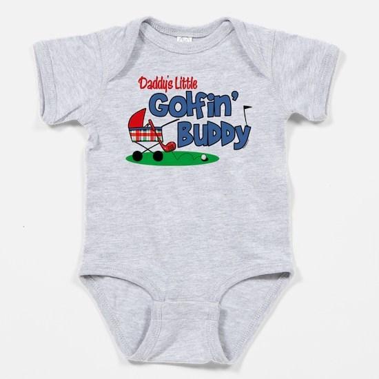 Daddy's Golfing Buddy Baby Bodysuit