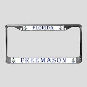 Florida Masons License Plate Frame