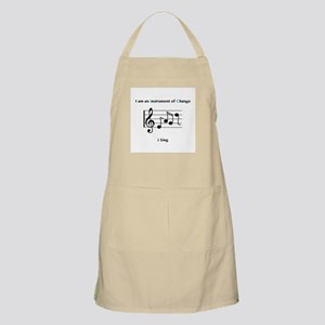 Instruments of Change I Sing Apron