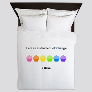 Instrument of Change I Bake Queen Duvet