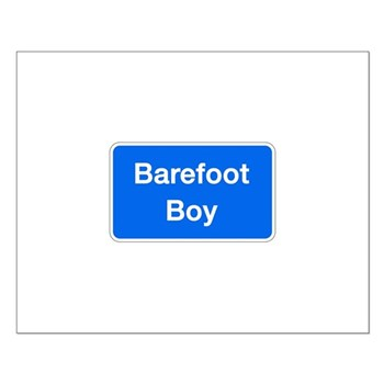 Barefoot Boy, Columbia (MD) Small Poster