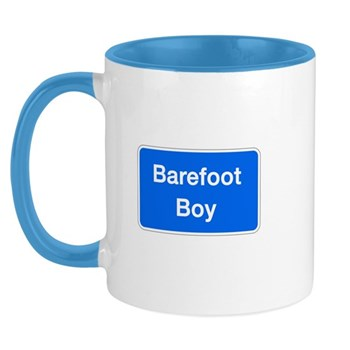 Barefoot Boy, Columbia (MD) Mug