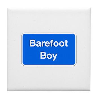 Barefoot Boy, Columbia (MD) Tile Coaster
