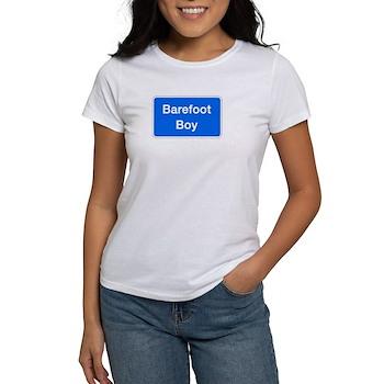 Barefoot Boy, Columbia (MD) Women's T-Shirt