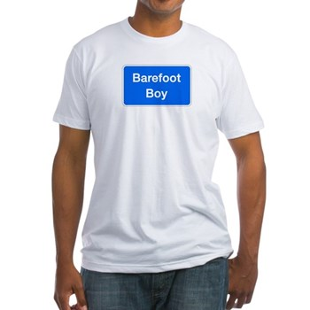 Barefoot Boy, Columbia (MD) Fitted T-Shirt