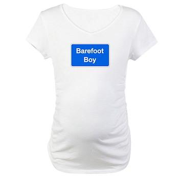 Barefoot Boy, Columbia (MD) Maternity T-Shirt