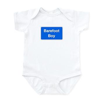 Barefoot Boy, Columbia (MD) Infant Bodysuit
