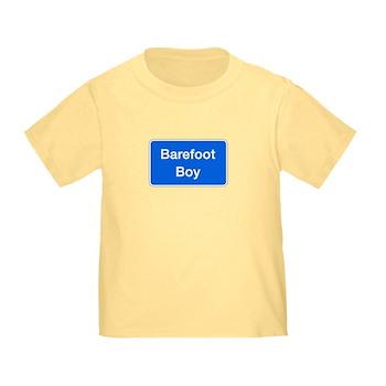 Barefoot Boy, Columbia (MD) Toddler T-Shirt