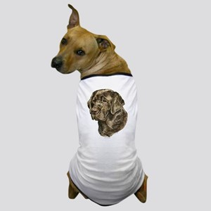 Chocolate Labrador Portrait Dog T-Shirt
