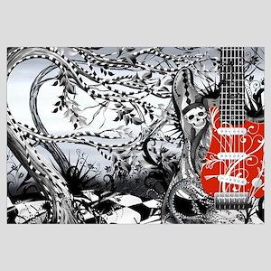 Guitar Rock Band Music Art by Juleez