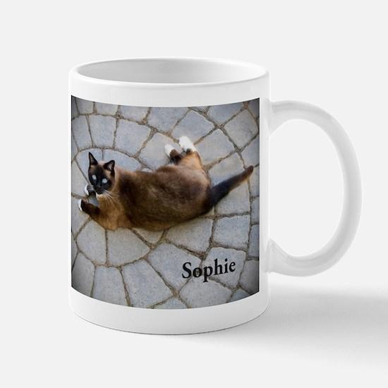 Snowshoe Cat Sophie Mug Mugs
