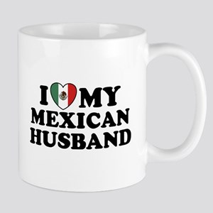 I Love My Mexican Husband Mug