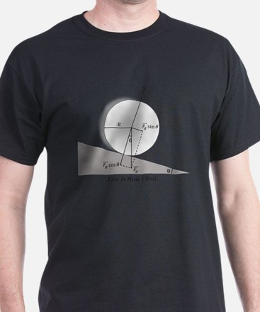 Cute Curling this is how i roll T-Shirt
