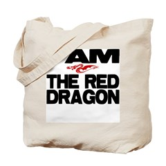 I AM THE RED DRAGON Tote Bag