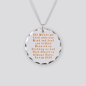 A Positive Meal Necklace