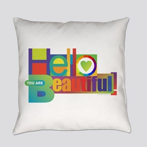 Hello Beautiful! Everyday Pillow
