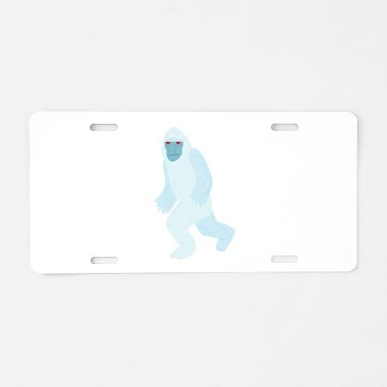 Yeti Aluminum License Plate