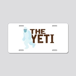 The Yeti Aluminum License Plate