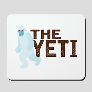 The Yeti Mousepad
