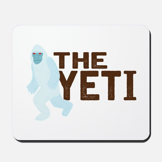 The Yeti Mousepad