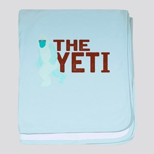 The Yeti baby blanket