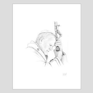 Pope John Paul II Small Poster