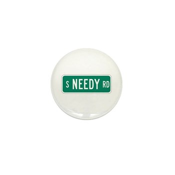 S Needy Road, Canby (OR) Mini Button (100 pack)