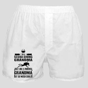 ScubaGrandmaK Boxer Shorts