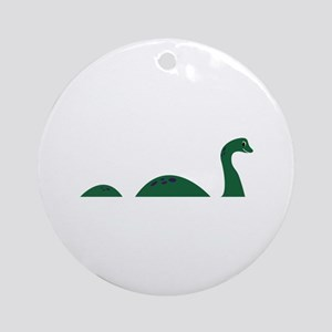 Loch Ness Monster Round Ornament