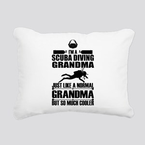 ScubaGrandmaK Rectangular Canvas Pillow