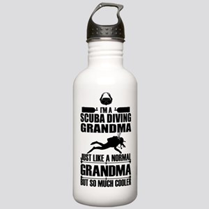 ScubaGrandmaK Stainless Water Bottle 1.0L