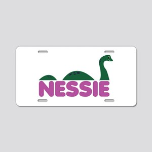 Nessie Monster Aluminum License Plate