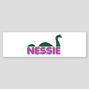 Nessie Monster Bumper Sticker
