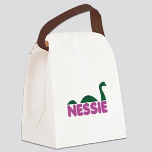 Nessie Monster Canvas Lunch Bag