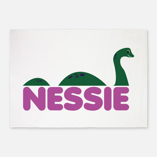 Nessie Monster 5'x7'Area Rug