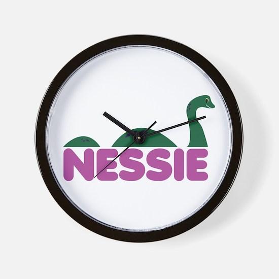 Nessie Monster Wall Clock