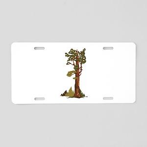 General Sherman Tree Aluminum License Plate