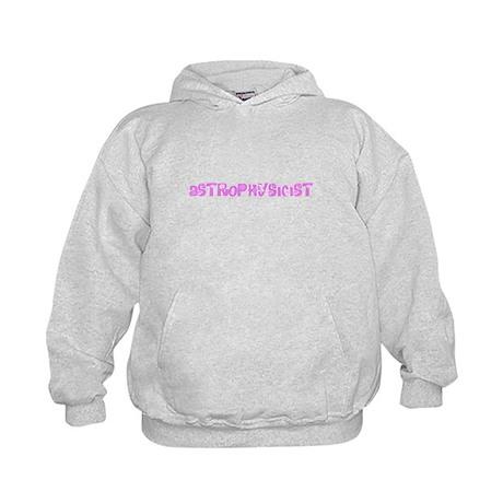 Astrophysicist Pink Flower Design Sweatshirt