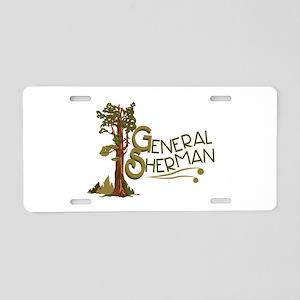 General Sherman Aluminum License Plate