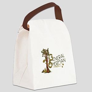 General Sherman Canvas Lunch Bag