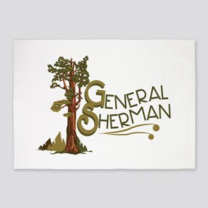 General Sherman 5'x7'Area Rug